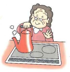 約90%の熱効率で素早く立ち上げ、手早く調理