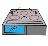 ガスコンロ・IH調理器の調子が悪い